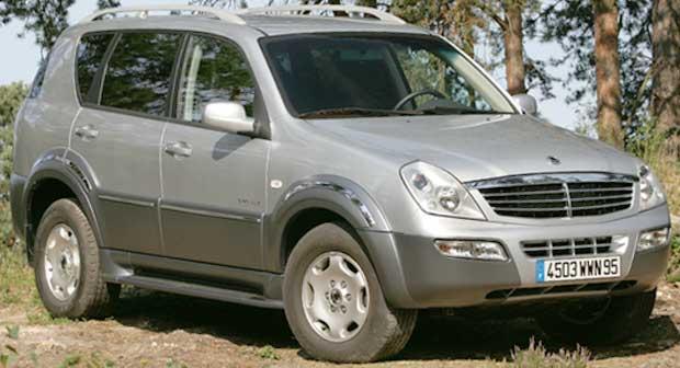 voiture 4x4 rexton